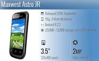 Maxwest Astro JR