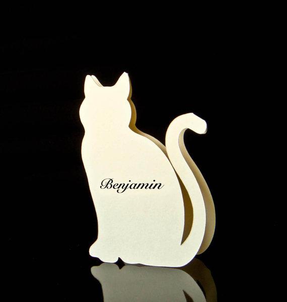 Segnaposto Matrimonio Gatto.A Cat In Every Place Un Matrimonio Felino