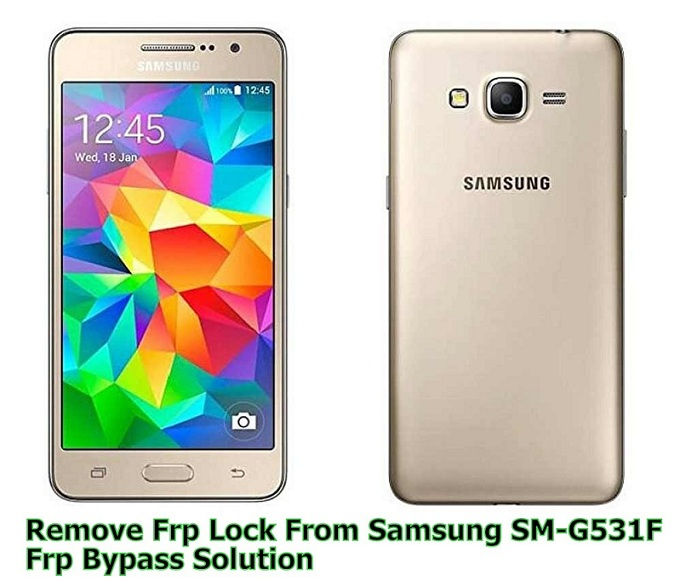 SAMSUNG G531F BYPASS GOOGLE ACCOUNT REMOVE FRP 2016 - MOBILE SOLUTION