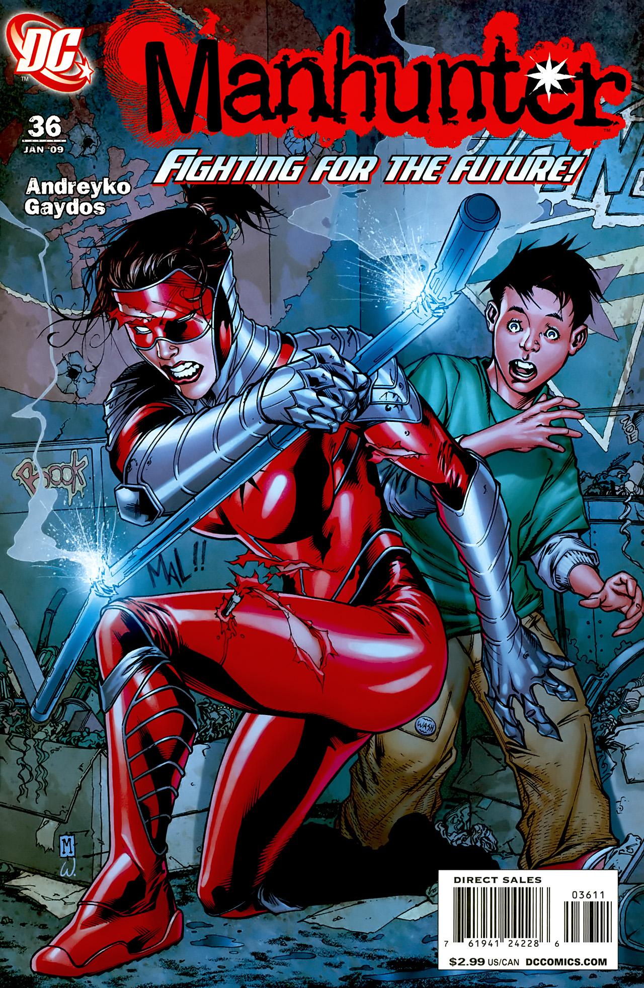 Manhunter (2004) issue 36 - Page 1