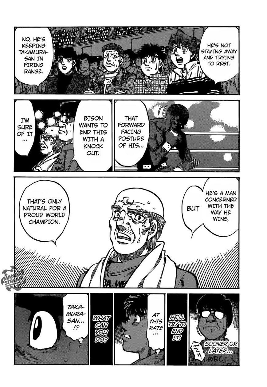 Hajime no Ippo - Chapter 1100