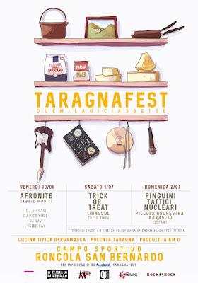 Taragnafest 30 giugno e 1-2 luglio Roncola San Bernardo (BG)