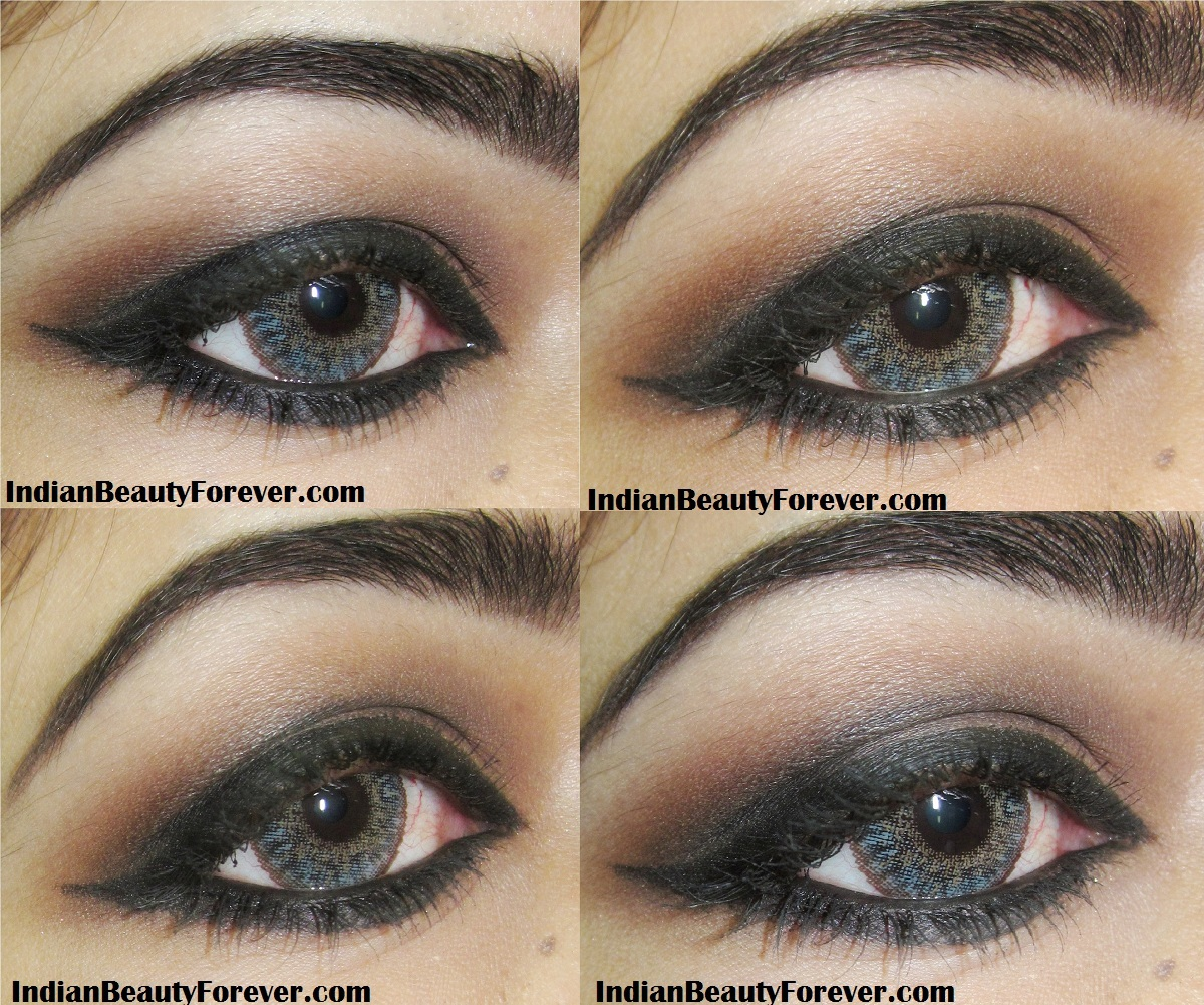 Indian Smokey Brown Eye Makeup step by step Tutorial