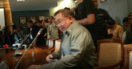 Waduh, Politisi Gerindra Hardik Pimpinan KPK dalam Rapat di DPR RI