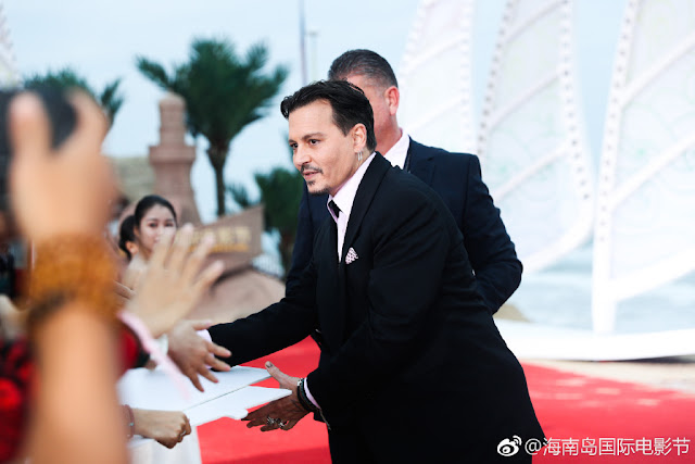 Hainan International Film Festival Johnny Depp