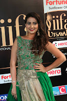 Manjusha in Beautiful Sleeveless Green Anarkali dress at IIFA Utsavam Awards 102.JPG
