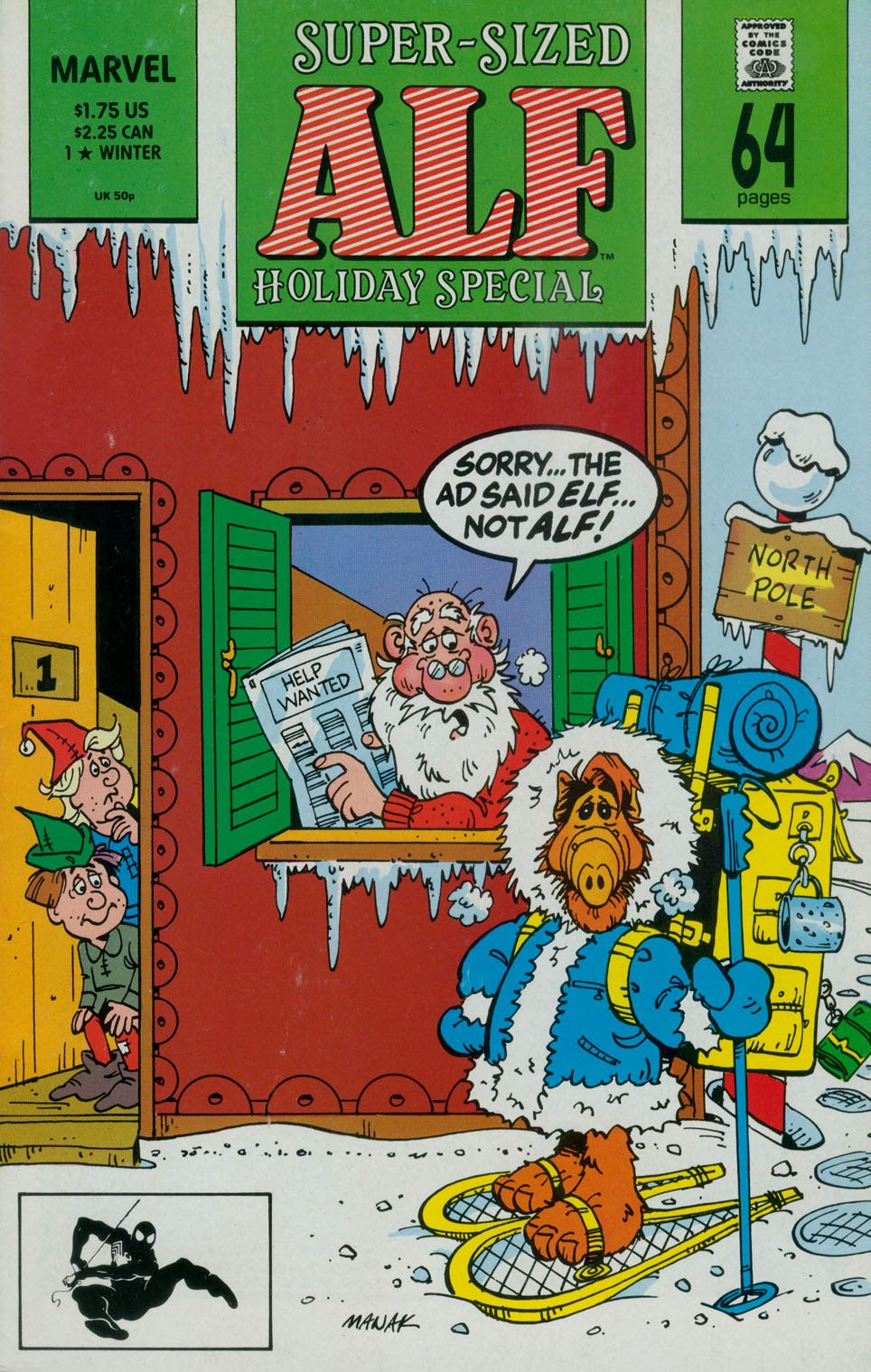 ALF Holiday Special issue 1 - Page 1