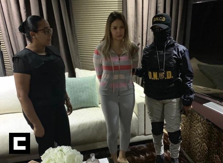 A Marisol Franco la interrogaron en su apartamento antes de llevársela presa