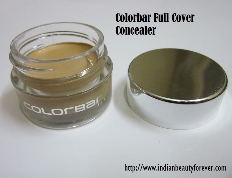 Colorbar Full Cover Concealer Review sand beige