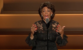 VIDEO: Maxine Waters 'Impeach 45!' chant sends GLAMOUR awards into frenzy