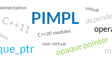 Bartek's coding blog: The Pimpl Pattern - what you should know