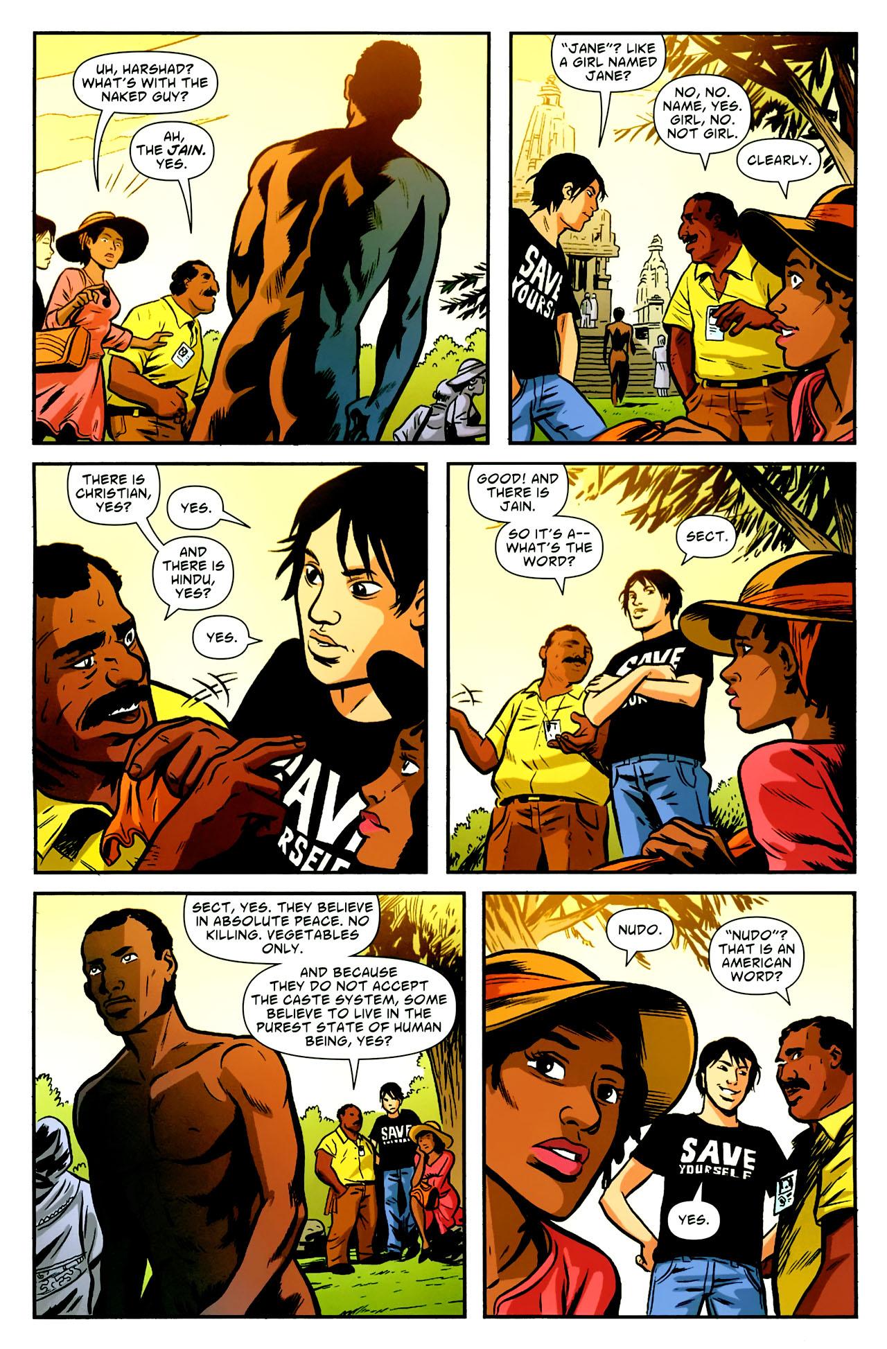 Read online American Virgin comic -  Issue #18 - 6