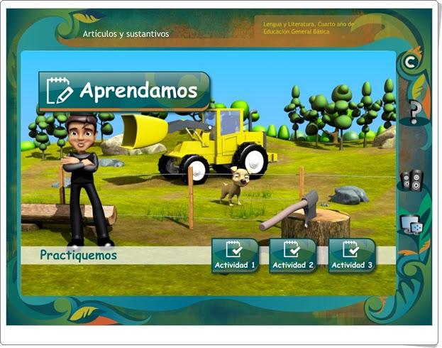 ARTÍCULOS Y SUSTANTIVOS (Juegos de Lengua Española de Primaria)