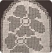 Camino de Mesa Ovalado a Crochet