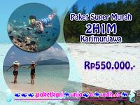 Harga Paket 2H1M Karimunjawa Cuma Rp550.000,-