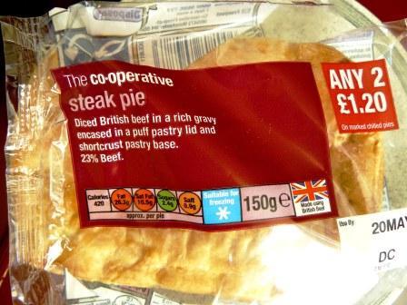 I Dream Of Pies Co Op Steak Pie