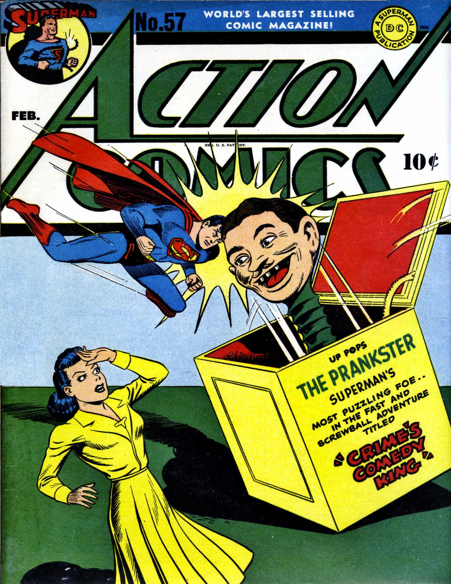 Read online Action Comics (1938) comic -  Issue #57 - 1