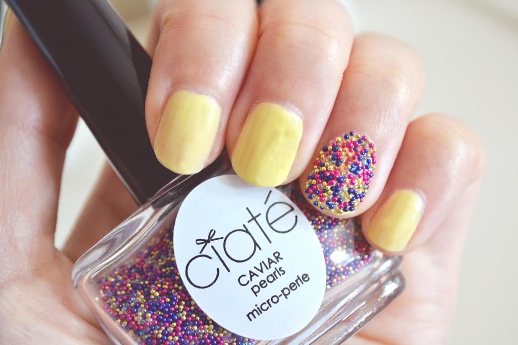 limited edition Ciaté Sugar Caviar Manicure