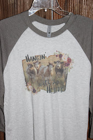 vintage t shirt with cows