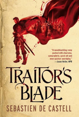 Traitor's Blade by Sebastien de Castell - book cover