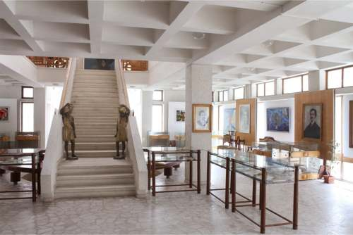 Muzeul Mihai Eminescu - interior