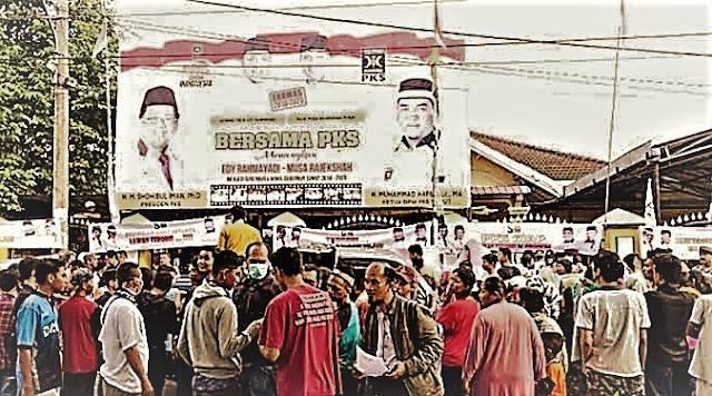 Serbu Kantor DPW Sumut, Warga Geram Bom Para Teroris Disebut Rekayasa! Mang Ya PKS Bisa-bisanya.....