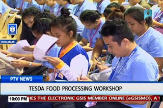 TESDA Food Processing Course NC II in the Philippines
