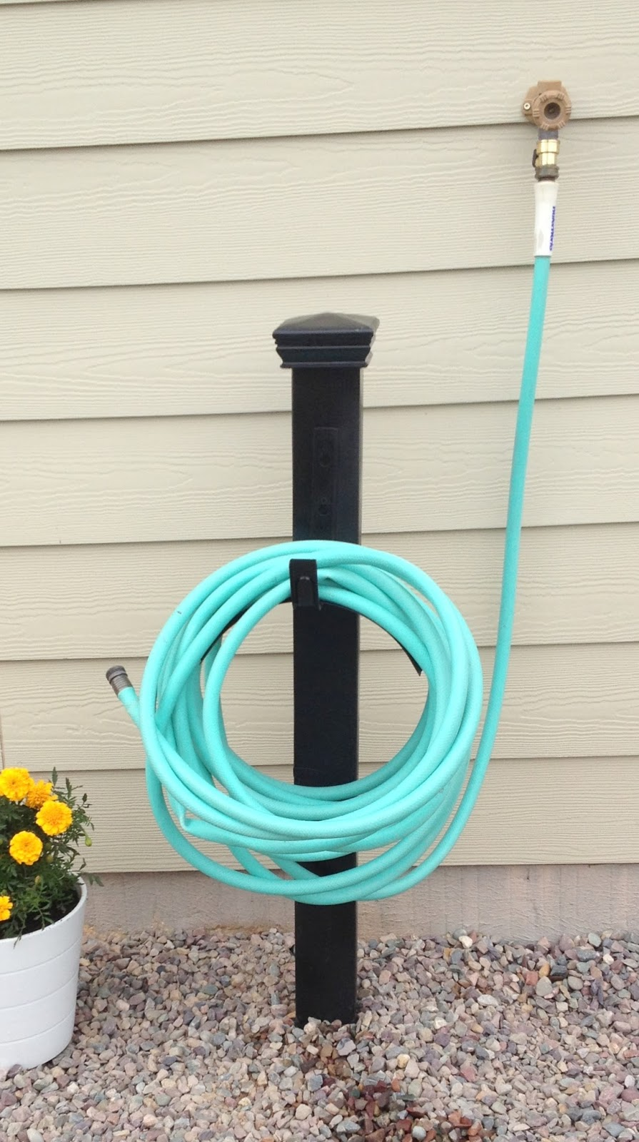 Garden Hose Holder 17 Best Images About Garden Hose ...