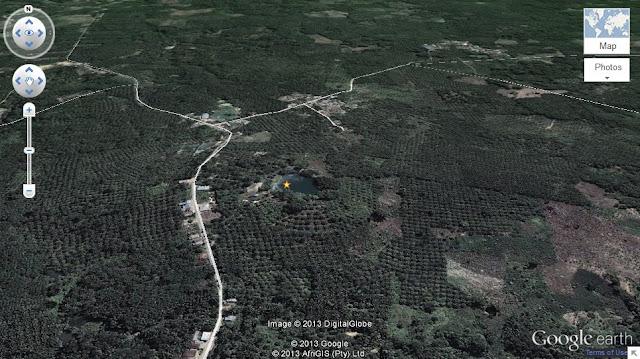danau-linting-dilihat-dari-google-map-danau-linting-adalah-kawah-gunung-manumpak.