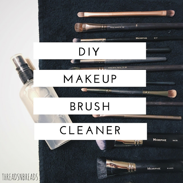 DIY Makeup Brush Cleaner Spray