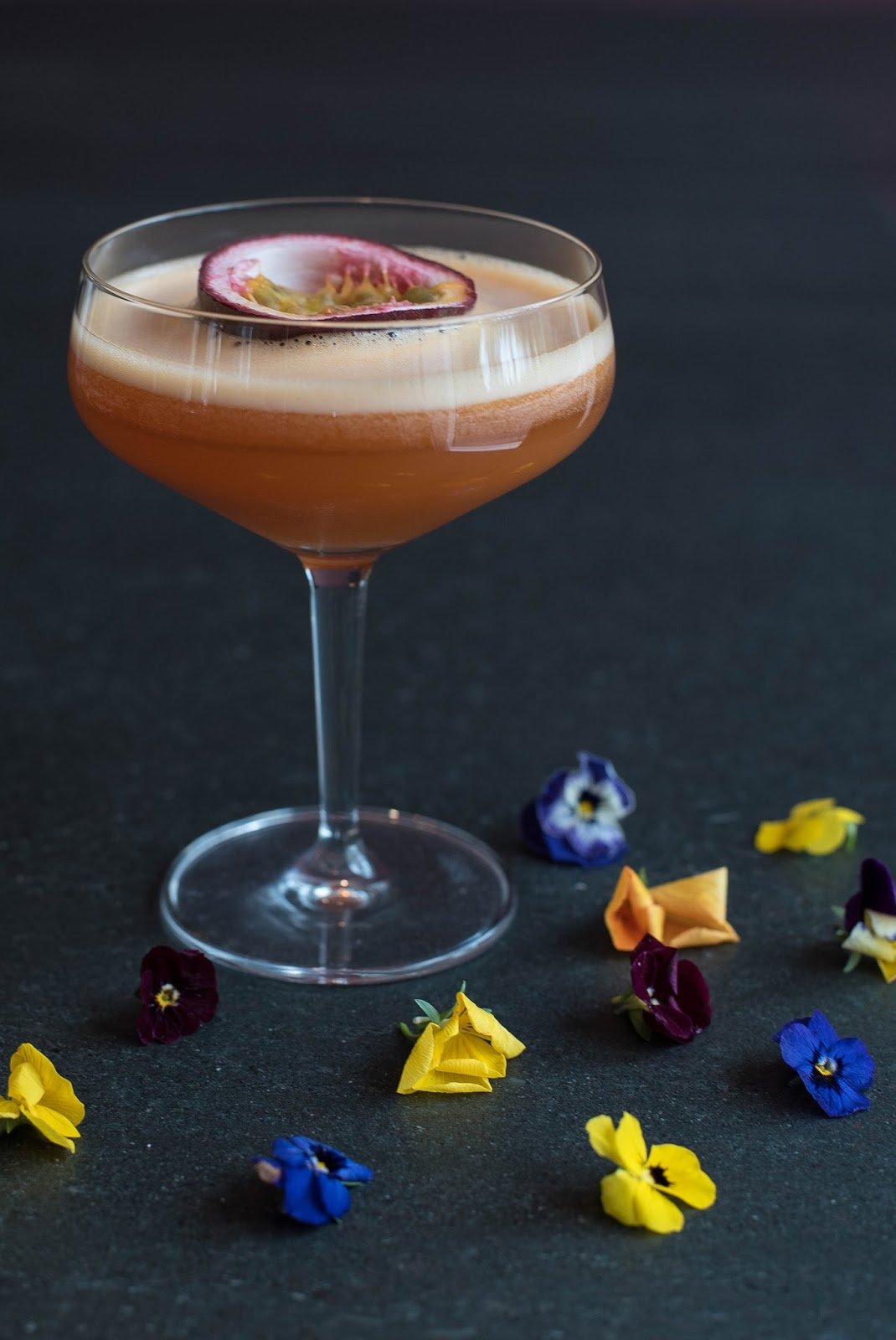 An Island Summer: The Perfect 'Passion Fruit Martini'