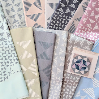 Karen Lewis screen printed fabric bundle
