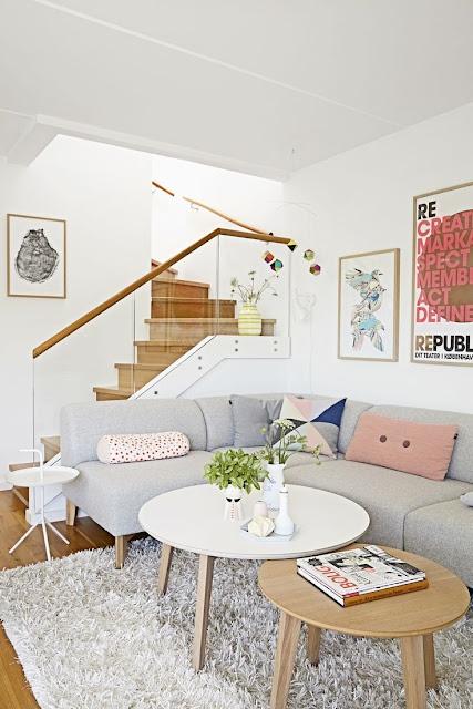 mesas-de-centro-redondas-decoração-sala-de-estar