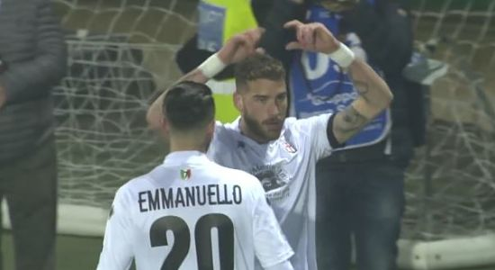 Pro Vercelli - Frosinone 2-0 HIGHLIGHTS