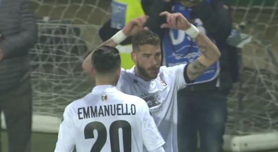 Pro Vercelli - Frosinone 2-0 HIGHLIGHTS