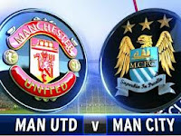 Hasil Manchester United vs Manchester City 9 April 2013