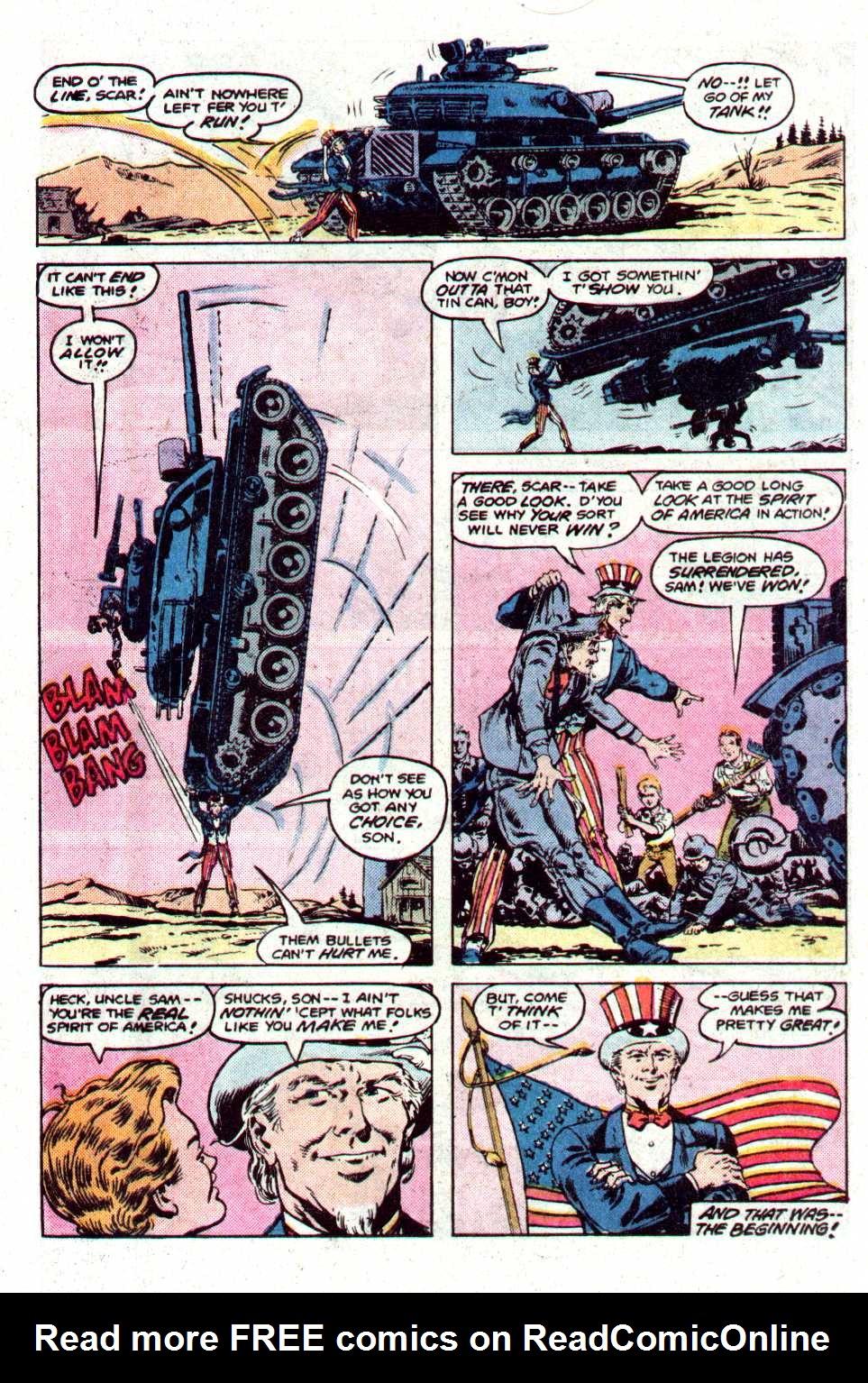 Read online Secret Origins (1986) comic -  Issue #19 - 21