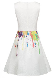 $17.90 Acevog Polyester Spandex Floral Cocktail Party Dress