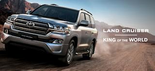 Spesifikasi dan Harga Toyota Land Cruiser 2018