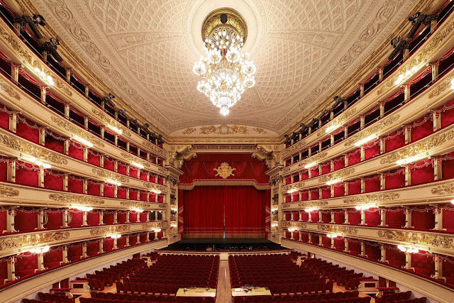 Photo of Teatro Alla Scala, Milan (photo: Rolex/Ambroise Tézenas)