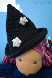 Tansy Doll's witch hat bamboletta doll costumes