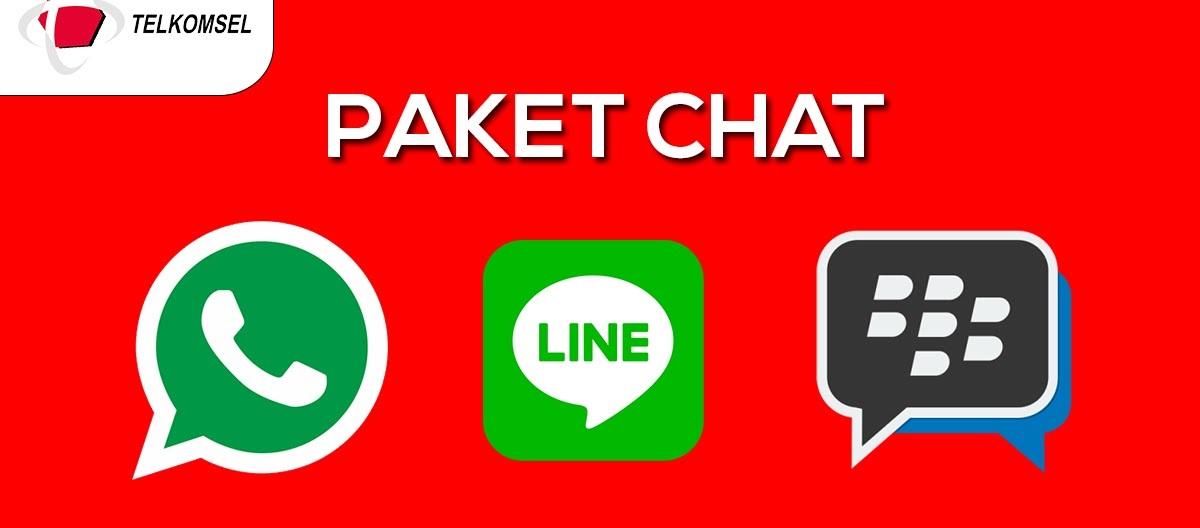 Cara Daftar Paket Chat Telkomsel Murah