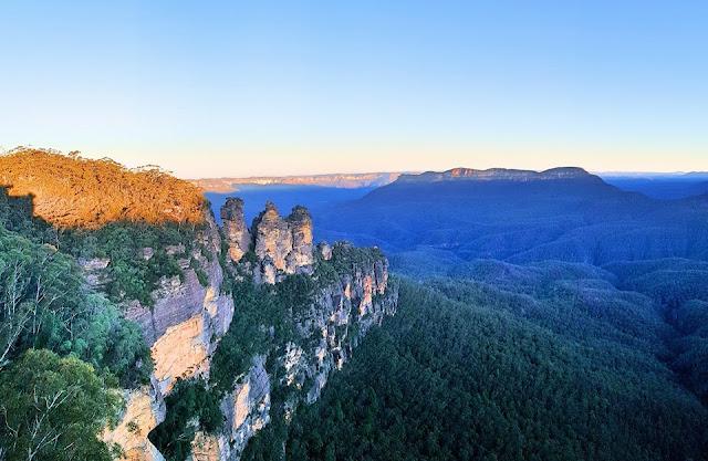 KỲ 4: AUSTRAILIA ĐI BỤI- BLUE MOUNTAIN Núi 3 chị em