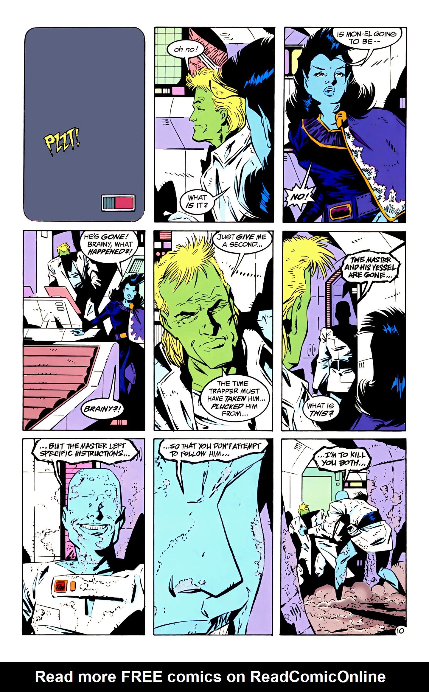 Legion of Super-Heroes (1989) 4 Page 10