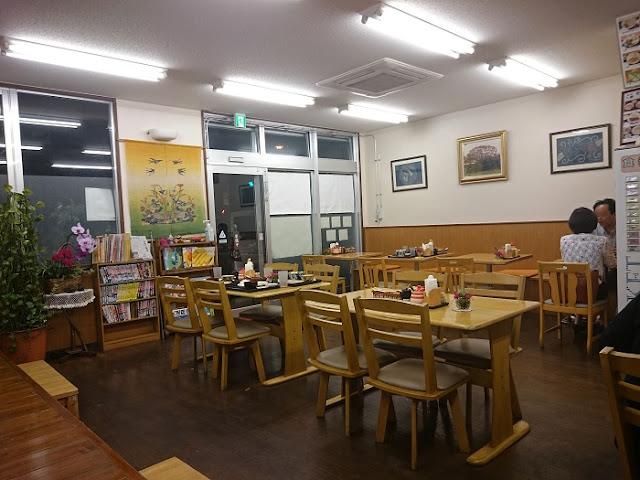 開南食堂の店内の写真