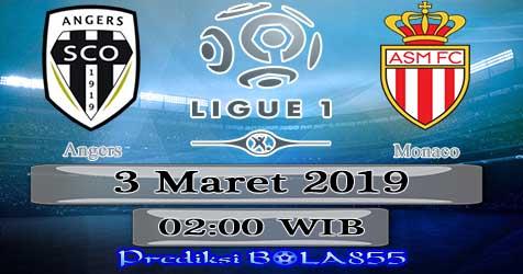 Prediksi Bola855 Angers vs Monaco 3 Maret 2019