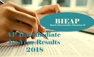 AP Inter 1st Year 2018 Results  | AP Intermediate 1st Year 2018 Results | AP Junior Inter 2018 Results