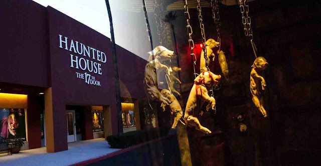 The 17th Door Haunted House is so Scary, It Require you to sign a waiver to enter