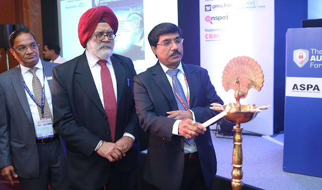 Lamp lighting by Mr. B K Prasad (IAS), Member - Secretary, National Comm...