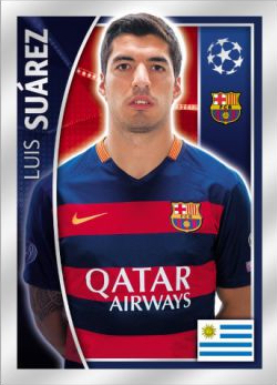 Football Cartophilic Info Exchange  Topps - UEFA Champions League Official  Sticker Collection 2015 16 (01) - Checklist a9943d337445d